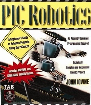PIC Robotics Development Book Cover