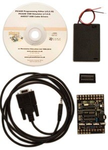 PICAXE 18M2 HIGH POWER STARTER PACK WITH SERIAL CABLE