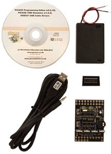 PICAXE 18M2 HIGH POWER STARTER PACK WITH USB CABLE