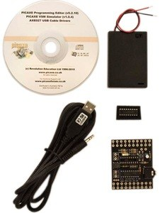 PICAXE 18M2 STARTER PACK WITH USB CABLE