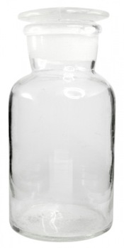 Bottle Reagent 500ml with Glass Stopper Glass