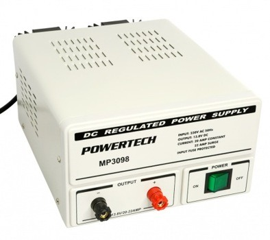 REGULATED POWER SUPPLY 13.8VDC 20AMP