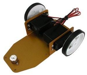 ROBOT BASE WITH 2X SERVO MOTORS AND WHEELS