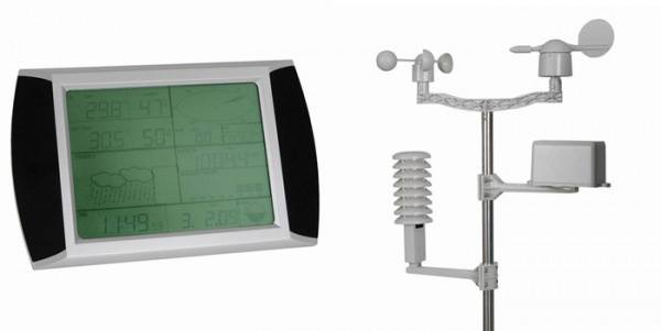 TOUCH SCREEN USB WIRELESS WEATHER STATION