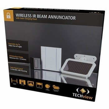 WIRELESS DRIVEWAY ALARM SOLAR POWERED