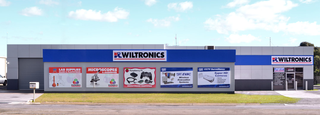 Wiltronics shop front